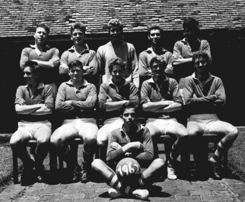 Nicholson House football team, Prince of Wales School, 1962