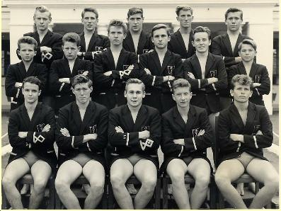 1963 Prince of Wales School Swimming team