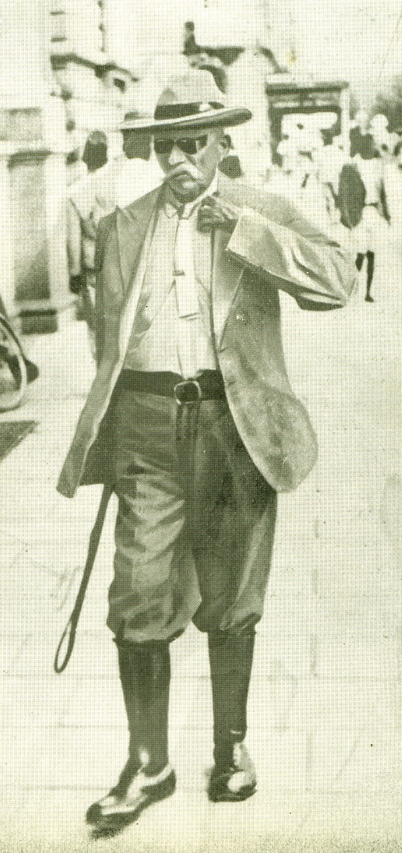 Mr Ali Khan in 1911