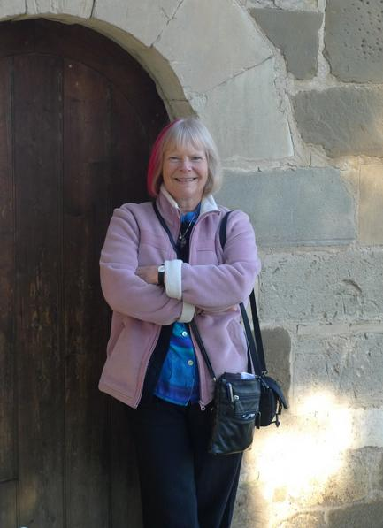 Sally Vivian in Montsalvat