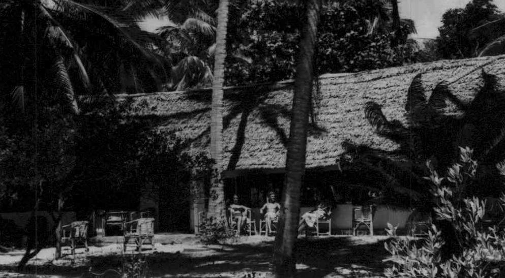 Hotel at White Sands, Mombasa 1956
